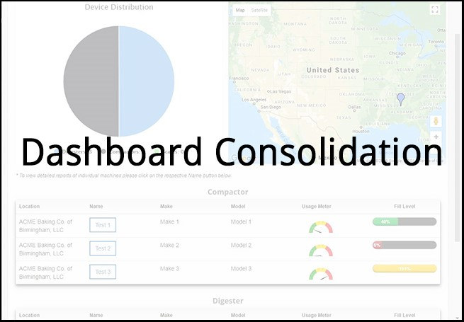 dashboard consolidation